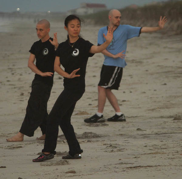 tibetan kungfu beach bagua workshop