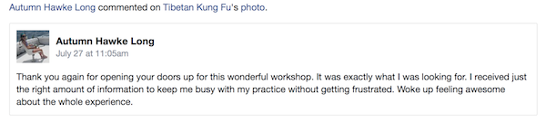 autumn comments on bagua workshop